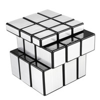 Wholesale x3x3 Mirror Bump Magic Cube Speed Puzzle Twist Game Intelligence Toys Gift