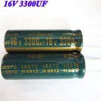 Wholesale Electrolytic capacitors uf V Volume uf Best price and good service Resistance to high pressure