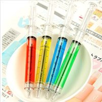 ball point needles - Syringe Pens Highlighters Ink Marker Needle Ball Point Hospital Office Brand New Good Quality