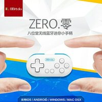 apple feedback - Classic new Bitdo ZERO wireless Bluetooth mini Gamepads support Apple Android Tablet PC game controller Joysticks