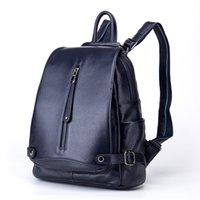 Wholesale Cheap Messenger Backpacks - Brand New backpack bags fashion designer travel bags women high quality genuine leather handbags cheap price women messenger bags