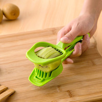 Wholesale Kitchen Stainless Steel Cooking Tool Egg Mushroom Fruit Slicer With Long Handle