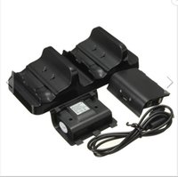 Wholesale Dual USB Charging Dock Controllers Charger With Batteries For X One With charge LED hours Charge time