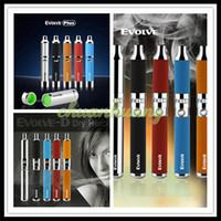 Wholesale 100 Authentic Yocan Evolve Wax Vaporizer Pen Dry Herb Kit Yocan Evolve D Evolve Plus Dual Coils Vape Vaporizers Pens E cigarettes Kits