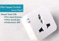 Wholesale Kankun K2 Smart Plug WiFi Remote Control Socket Power Adapter Electrical Wireless Switch by Using Smartphone APP Smart House Helper