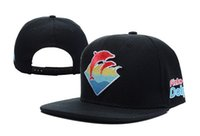 arrival dolphin - 2016 New Arrival Pink Dolphin snapbacks hats hip hop street wear adjustable snapback hat cap hot selling
