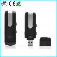 Wholesale Hot Selling U8 USB Disk spy Camera DVR Motion Detect Camera u disk mini dv x480