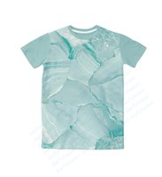 amazing marble - Real USA Size Amazing Marble D Sublimation print T Shirt Plus size