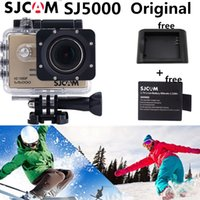 Wholesale Sjcam sj5000 original Waterproof Action Camera Full HD p Sport underwater Sport DV GoPro Hero Style HD DVR