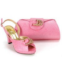 ankle pouch - NewAfrica fashion women Shoes and Bags matches set clutch pouch phone bag jewerly with Stones fo wedding party elegant high class high heels