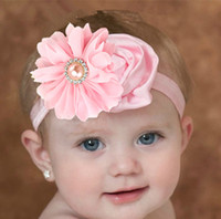 Wholesale 10pcs Baby flower headband colors