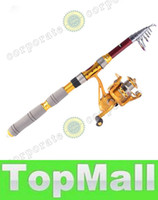 Wholesale LAI Hybrid carbon M FT Portable Telescopic Telescope Fishing Rod Travel Spinning Fishing Pole Sea