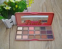 Wholesale Peach Pink Too Faced Eyeshadow Palette Colorsr Makeup Cosmetic Eye Shadow Pallete Powder DHl