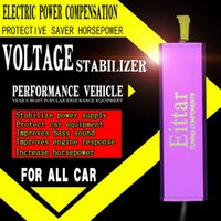 Wholesale Electric power compensation and voltage stabilizer Protective saver Increase horsepower for all car v and v engines