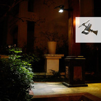 Wholesale Solar powered energy lamp outdoor wall mounted solar lawn lamp courtyard light