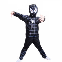 Wholesale 2016 Halloween Costumes Kids Cosplay Costume Batman Costume for Kid SupermanCostume Spiderman Superhero Cosplay Costume Zorro Costume by DHL