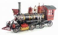 big boy train - United States Big Boy Steam Locomotive handmade vintage metal train model home office bar decoration gift