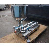 Wholesale Double nozzle head Paste filling machine large hopper Rotary Valve range ml quantitative filling and packaging equipment
