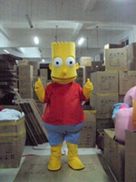 bart halloween - Halloween Bart The Simpson Mascot Costume Fancy Dress Party Outfit Drop Shipping
