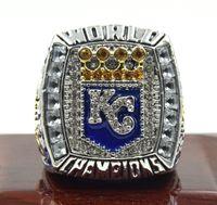2015 2016 Kansas City Royals serie mundial campeonato anillo tamaño 11
