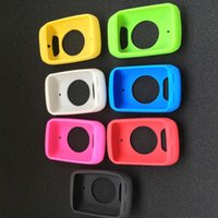 bicycle computer gps - Bicycle Silicone Rubber shockproof Protect Cover Case LCD Screen Film For Garmin Edge Bike Cycling GPS Computer Accessories