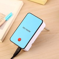 bathroom wire - 2016 Hot Sale New Colorful Mini Heater Portable USB Hand Held Winter Warm Heater with Retail Box