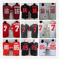 discount football jerseys - NEW Colin Kaepernick Joe Montana Vernon Davis ers Jerseys Cheap discount football jerseys Custom Elite Embroidery High Quality