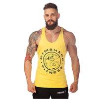 athletic undershirt - Hot Men s Loose Gym Tank Tops Athletic cotton undershirt Men Muscle Sleeveless Beauty Bodybuilding Sports Fitness Vests Tanks XXL