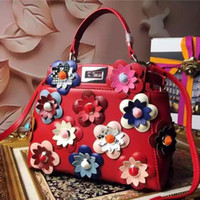 absolute leather - leather handbags Handmade flowers leather handbags fashion bags high quality metal accessories absolute luxury is the woman s favorite