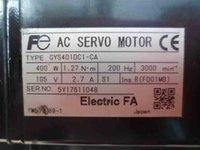 ac motor test - GYS401DC1 CA ac servo motor GYS401DC1 CA electric servo motor fully tested working