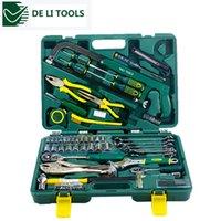 Wholesale Excellent Quality DL1079G set DELI Household multifuncional repair tool set Price