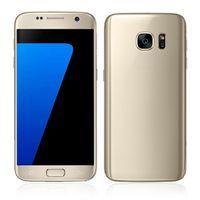 al por mayor teléfonos androides dual core-Goofón s7 teléfono s7 borde Android 6.0 teléfono inteligente 64bit teléfonos móviles Mostrar MTK6592 Octa Core 3gb ram 64gb rom WIFI Fake 4g lte dual Sim dhl