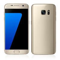 achat en gros de caméra goophone-Téléphone s7 s7 téléphone Android 6.0 téléphone portable 64bit Afficher MTK6592 Octa Core 3gb RAM 64gb rom WIFI Faux 4g lte double Sim dhl
