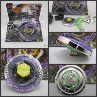 Wholesale Beyblade Metal Fusion D set BB105 BB106 BB108 BB109 BB111 BB113 BB114 kids game toys children Christmas gift