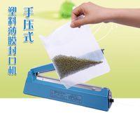 Wholesale 12 mm package Hand pressure PP PE poly bag sealing machine AC V impulse heating plastic bag sealer