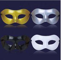 Wholesale 50PCS Classic Women Men Venetian Masquerade Half Face Mask for Party Costume Ball colors send