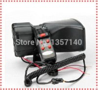 Wholesale New style w Car Electronic sounds Warning Siren Alarm Police Firemen Ambulance Loudspeaker Speaker with MIC