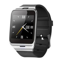 Wholesale 2016 Fashion Smart Watch GV18 for Android Phone Support SIM Card NFC Bluetooth Smart Clock mAh Battery Long Duration Watch
