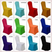 Lycra banquet sofa - Home Textiles Chair Covers Chair Sofa Cover ivory Black White Spandex Stretch Chair Cover Lycra For Wedding Banquet Party Hotel Decorations