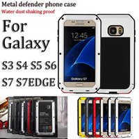 gold dust - 1 a High quality composite armor phone case phone cover water dust shock proof metal case for samsung s note