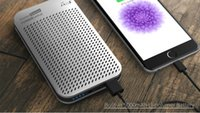 audio business card - Outdoor riding mobile power Bluetooth speaker Business Speaker New Patent Phone mobile power Bluetooth Speaker