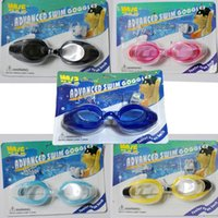 arena swimming goggles - New Adult swimming goggles Anti fog Waterproof Protection child men women swim glasses goggle for arena pool sport Earplugs nose clip