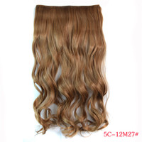 Wholesale 5C g Human Hair Extentions In Europe and America hair Pieces Five Clips Hair Extention High Quality G0022