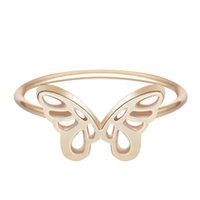 beautiful love wedding - Womens Love Jewelry Silver Lovely Mini Beautiful Butterfly Ring Wedding Charming Lady Girl Design Fashion Best Friend Gifts