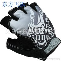 Wholesale new half finger cycling gloves outdoors mountain road bike riding protective gear Rosso Corsa mittens NLC New Korean printing elastic c