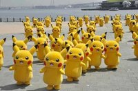 batik material - High material hot Pikachu mascot costume Pikachu adult size up
