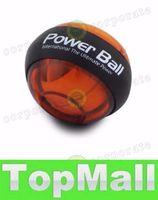 Wholesale LAI New Power Wrists Force Ball Gyroscope LED Lighting Wrist Strengthener Power Force Ball Arm Exercise Power Handball Exercise Ball
