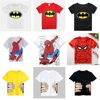 Wholesale 2015 Spring Summer Cotton Children Short Sleeve T Shirts Kids Clothing Tees Baby Boy Girl Cartoon Tops Kids O Neck T shirt