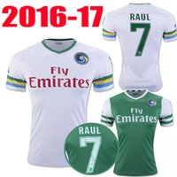 Wholesale Best thai quality New York Cosmos Jerseys Home away RAUL PELE soccer football shirt