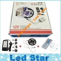 advertisement box - Exquisite Packaging Box Led Strips Light Kit M LEDs SMD RGB V Led Strips Waterproof keys Controller Power Drivers